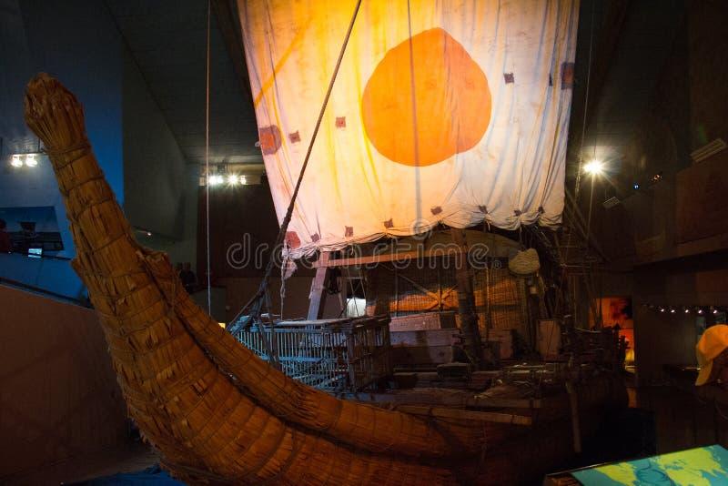 Kon-Tiki Museum en Noruega fotografía de archivo