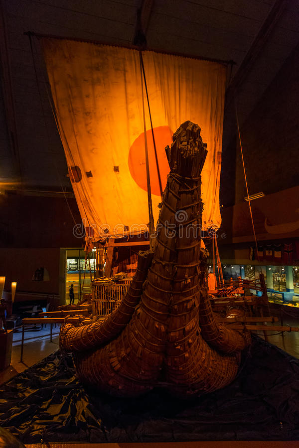 Kon-Tiki Museum en Oslo foto de archivo libre de regalías