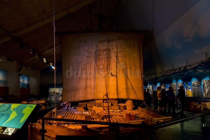 Kon-Tiki Museum en Oslo fotos de archivo