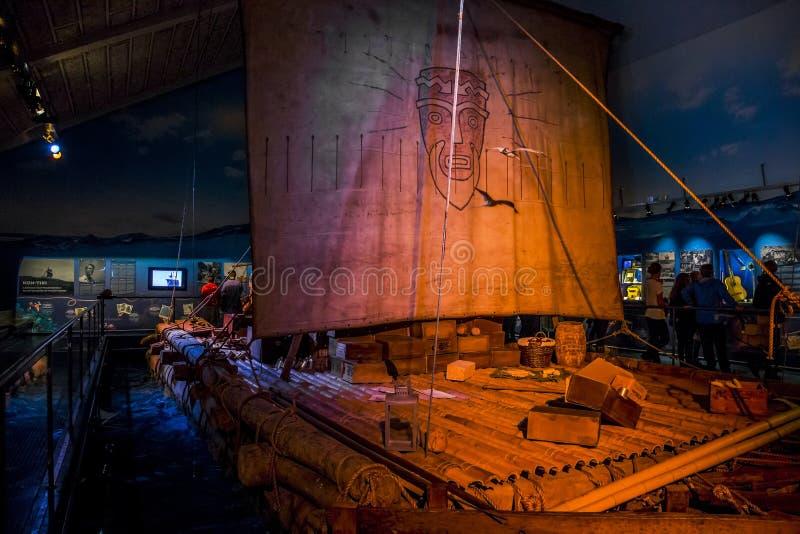 Kon-Tiki Museum en Oslo imagen de archivo