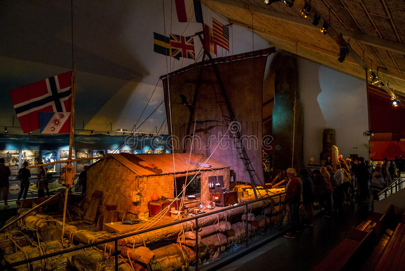 Kon-Tiki Museum en Oslo fotografía de archivo libre de regalías