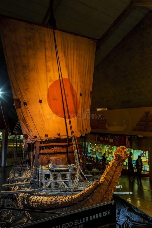 Kon-Tiki Museum en Oslo foto de archivo