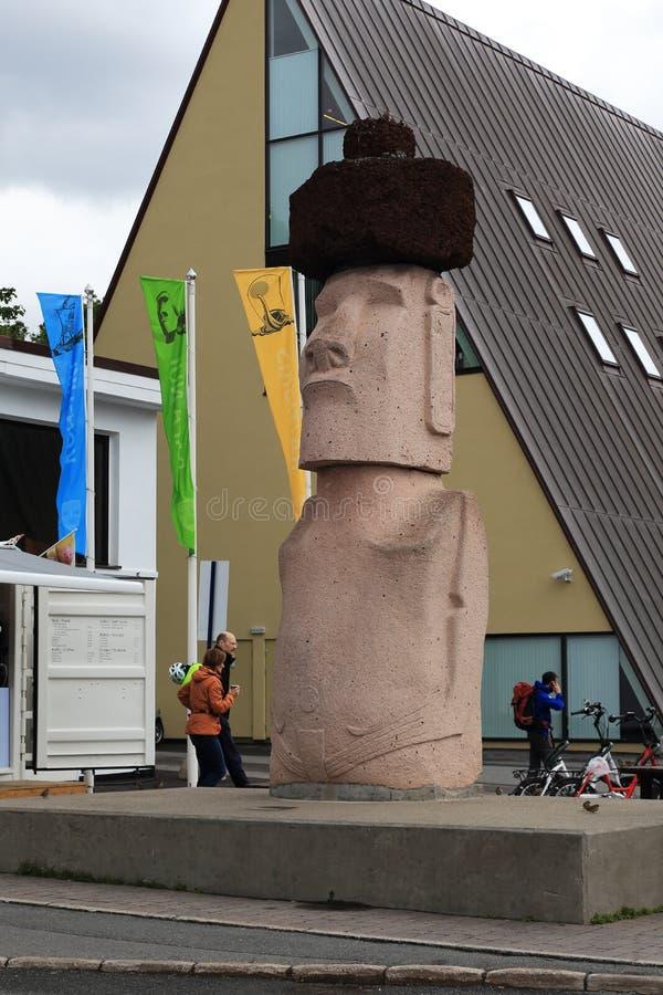 Kon-Tiki Museum in Oslo royalty-vrije stock foto's