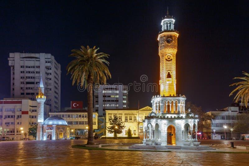Konak Square in Izmir royalty free stock photography