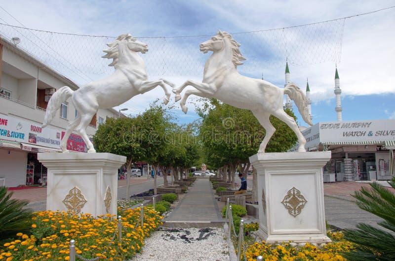 Konakli (Alanya), Turkiet royaltyfri bild