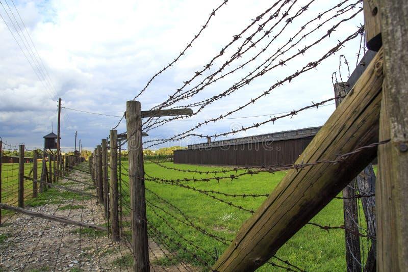 Koncentracyjny obóz Majdanek, Lublin, Polska Śmiertelny obóz zdjęcia royalty free