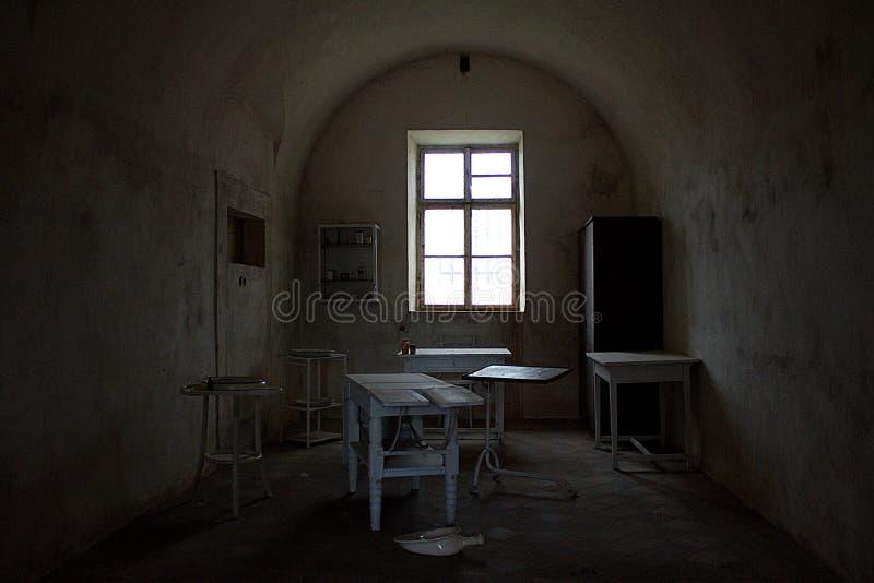 Koncentracyjny obóz w Czeskim miasteczku zdjęcie stock