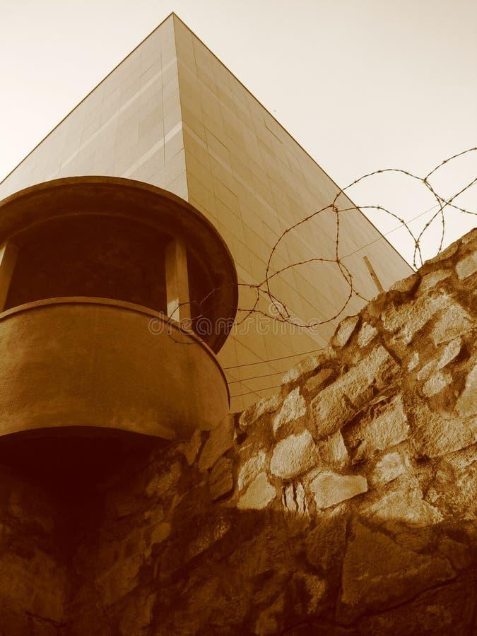 Koncentrationsläger Americn krigmuseum, Saigon, Vietnam fotografering för bildbyråer
