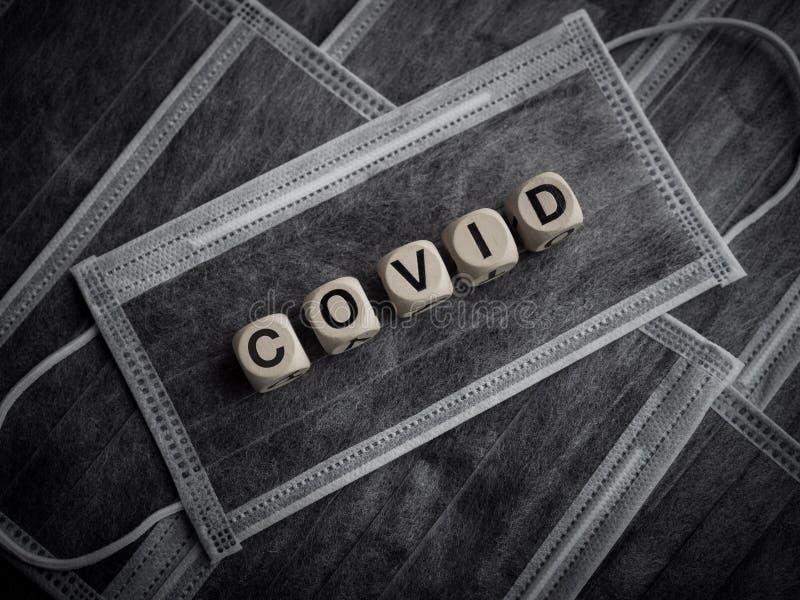 Koncepcja Coronavirus lub Covid-19 obrazy royalty free