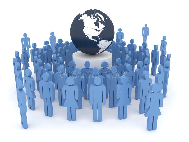koncepcja globalizacji ilustracji
