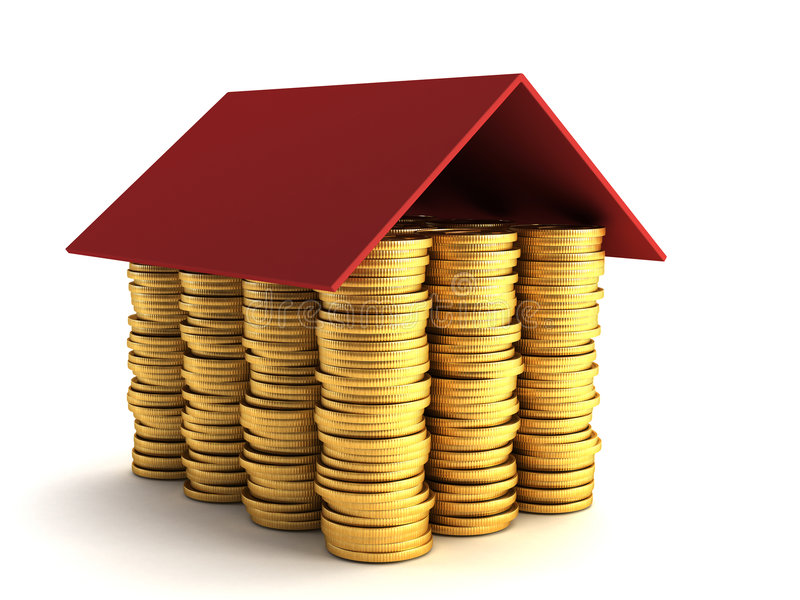 koncepcja hipoteka ilustracji