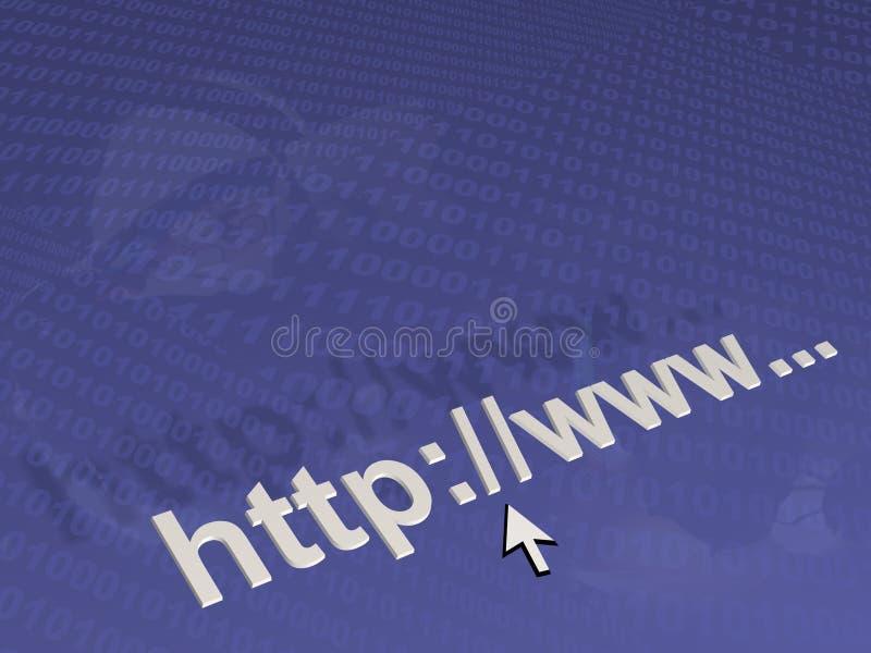 koncepcja internetu ilustracji