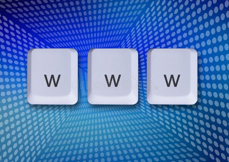 koncepcja internetu Www obrazy stock