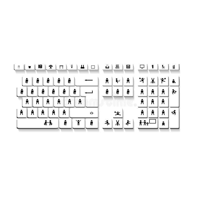 koncepcja komputerowy wchodzi interrrogation kluczowe pytanie klawiaturowy otrzymuje żółty obrazy royalty free