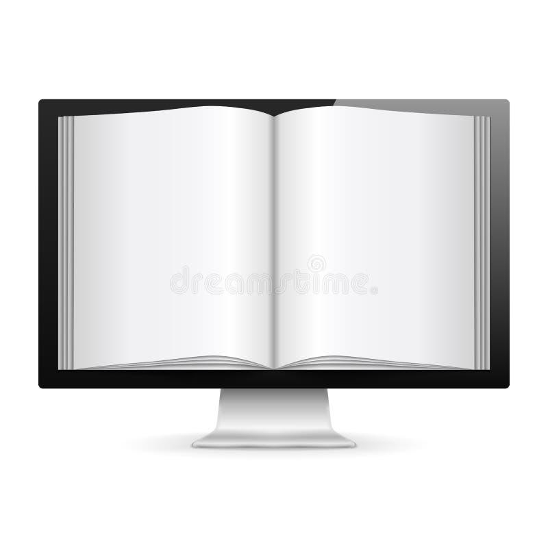 koncepcja książkowy royalty ilustracja