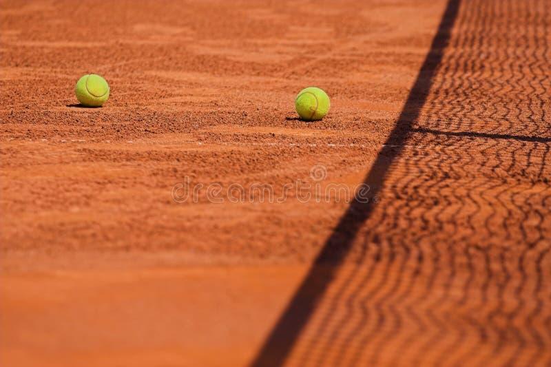 koncepcja kulowego tenis sieci obraz royalty free