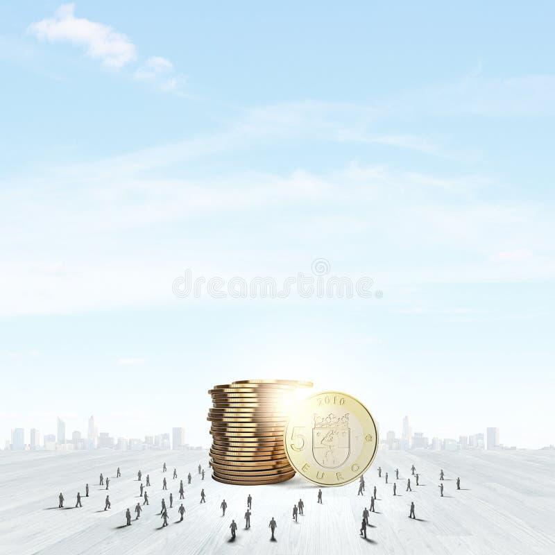 koncepcja nieruchomości prawdziwe odbicie domu pieniądze fotografia stock