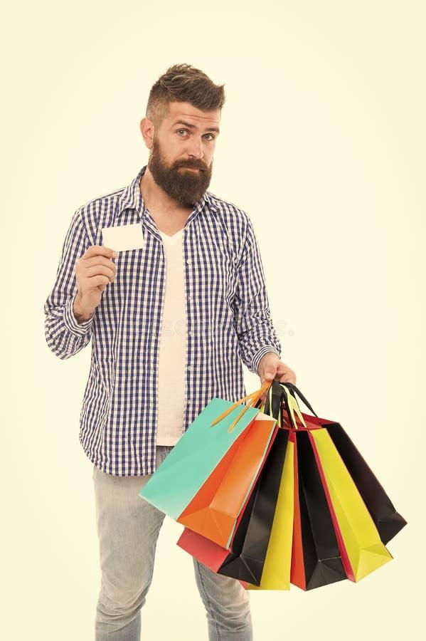Koncepcja ochrony konsumentów Torby na zakupy i karty bankowe dla zadowolonych konsumentów Prawa konsumentów fotografia royalty free