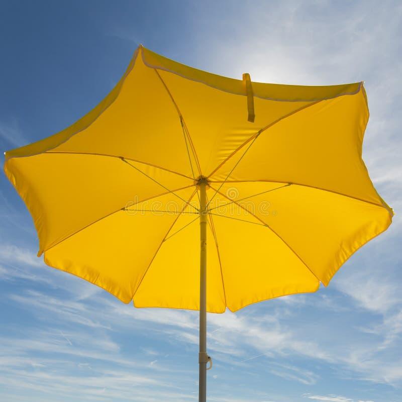 koncepcja plażowy wakacje parasolkę zdjęcie royalty free