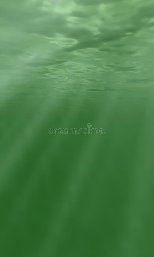 koncepcja pod wodą royalty ilustracja