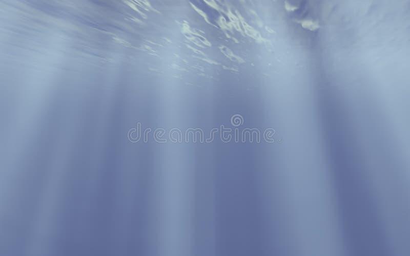 koncepcja pod wodą ilustracji