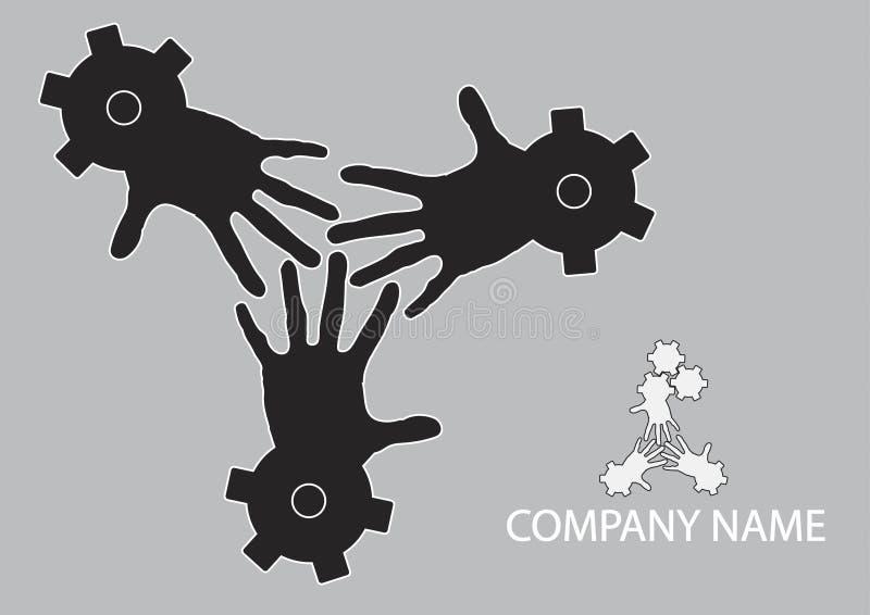 koncepcja pracy zespołowej ilustracja wektor