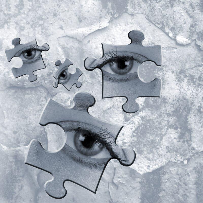 koncepcja szpieg ilustracji
