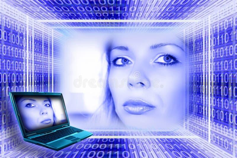 koncepcji technologii informatycznych fotografia stock
