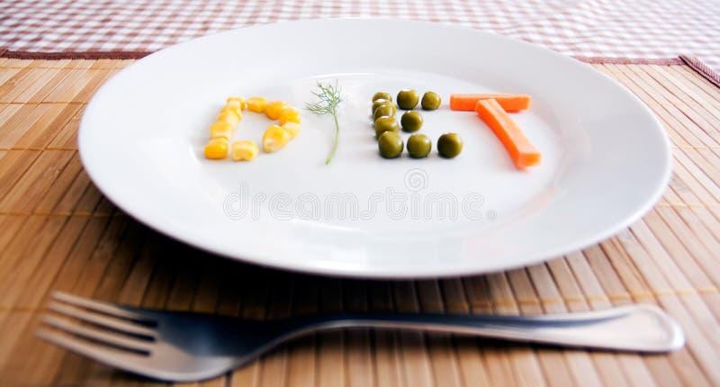 konceptualna dieta zdjęcie royalty free