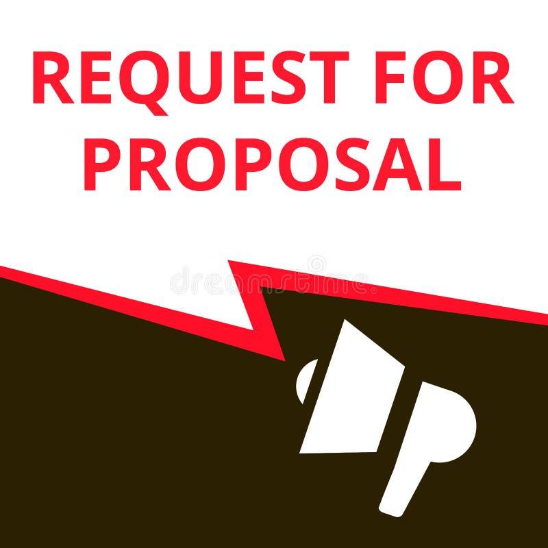 Konceptualna pisze pokazuje prośba Dla propozycji ilustracji