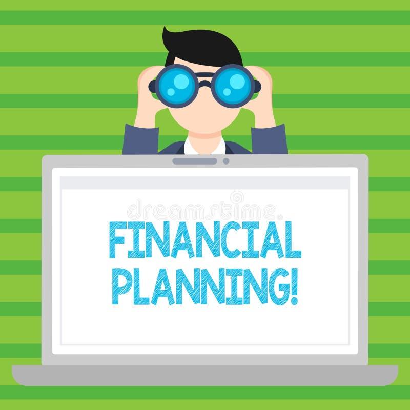 Konceptualna ręka pisze pokazywać Pieniężnego planowanie Biznesowej fotografia teksta księgowości Planistyczna strategia Analizuj ilustracji