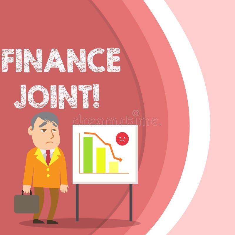 Konceptualna ręka pisze pokazywać finanse złącze Biznesowy fotografia teksta zaopatrzenie fundusze dla projekta przychodził od dw ilustracji