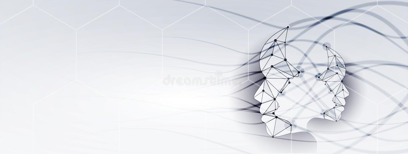 Konceptualna technologii ilustracja sztuczna inteligencja