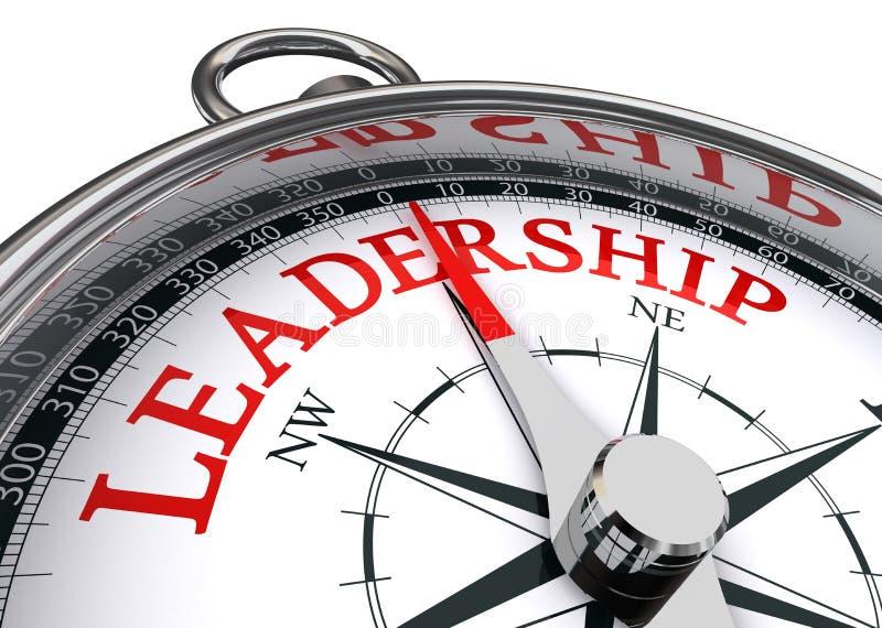 Konceptualny przywódctwo kompas royalty ilustracja