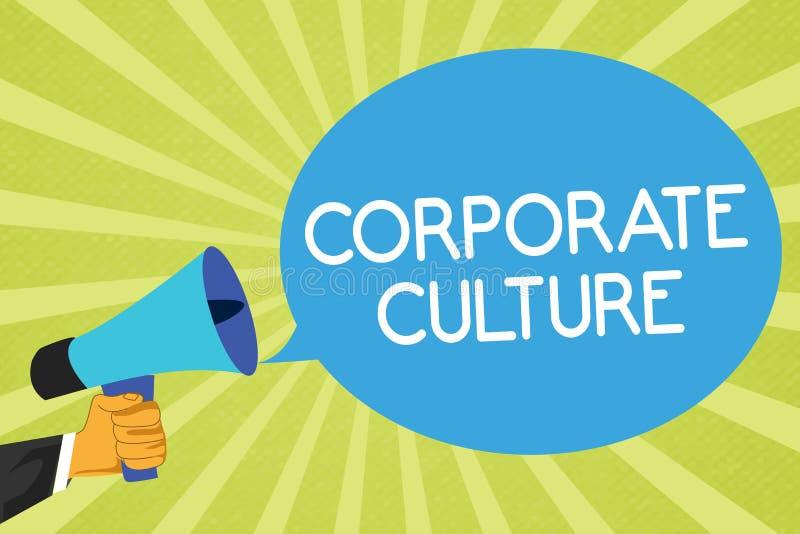 Konceptualny ręki writing pokazuje kulturę korporacyjną Biznesowa fotografia pokazuje wiary i pomysły który Dzielił firma ceni ilustracji