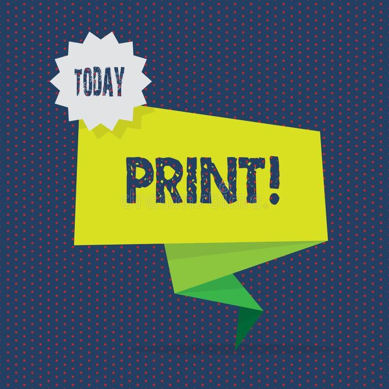 Konceptualny ręki writing seansu druk Biznesowa fotografia pokazuje produkt spożywczy list liczy symbole na papierze maszyną royalty ilustracja
