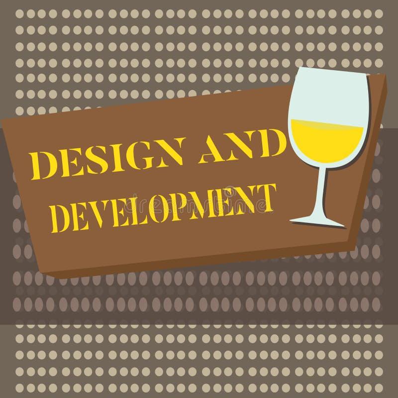 Konceptualny ręki writing seansu projekt I rozwój Biznesowy fotografia tekst Definiuje specyfikację produkty i ilustracji