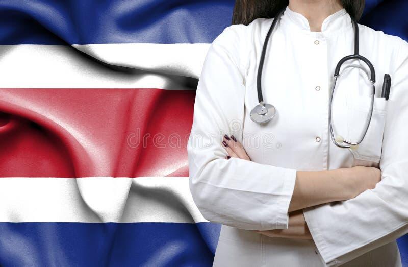 Konceptualny wizerunek krajowy system opieki zdrowotnej w Costa Rica fotografia royalty free