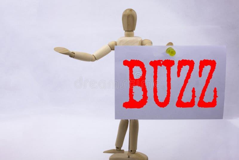 Konceptuell handskrift textinspiration som visar Jerzy Buzz affärskoncept för Buzz Word-presentation skriven på fotografering för bildbyråer