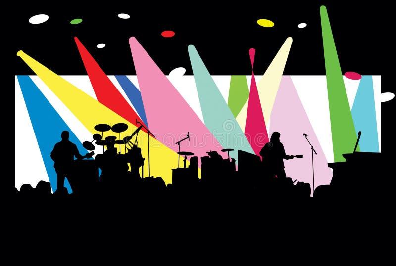 koncert. ilustracja wektor
