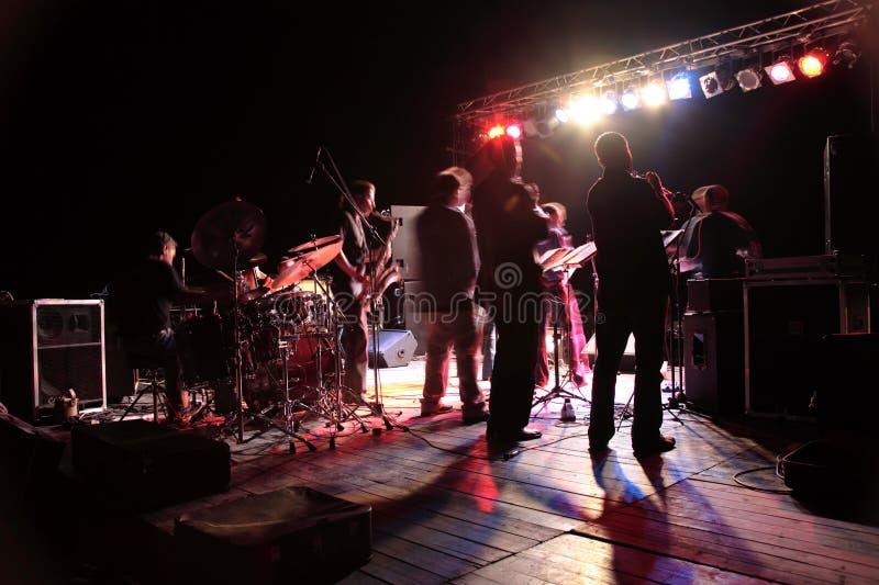 koncert. zdjęcia royalty free