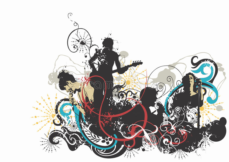 koncert. ilustracji