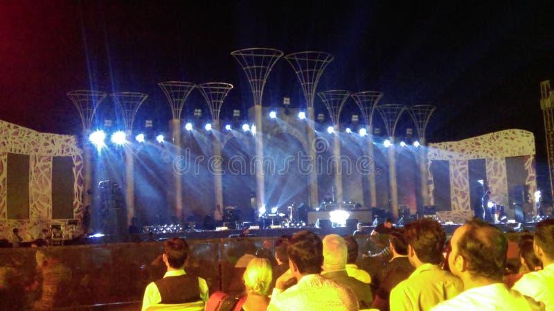 koncert zdjęcia royalty free
