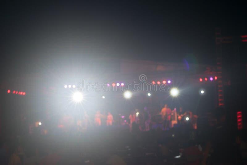 Koncert foluje ludzie zdjęcie royalty free