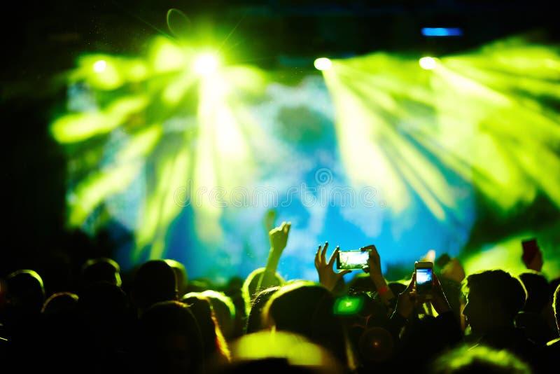 Koncert nowożytny wykonawca zdjęcie royalty free