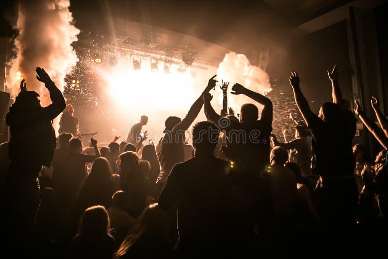 Koncert w Londyn obrazy stock