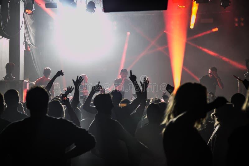 Koncert w Londyn klubie fotografia stock