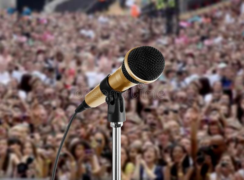 Koncert żywy Zdjęcia Royalty Free
