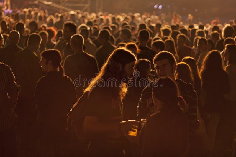 Koncertowa Nisville atmosfera fotografia royalty free