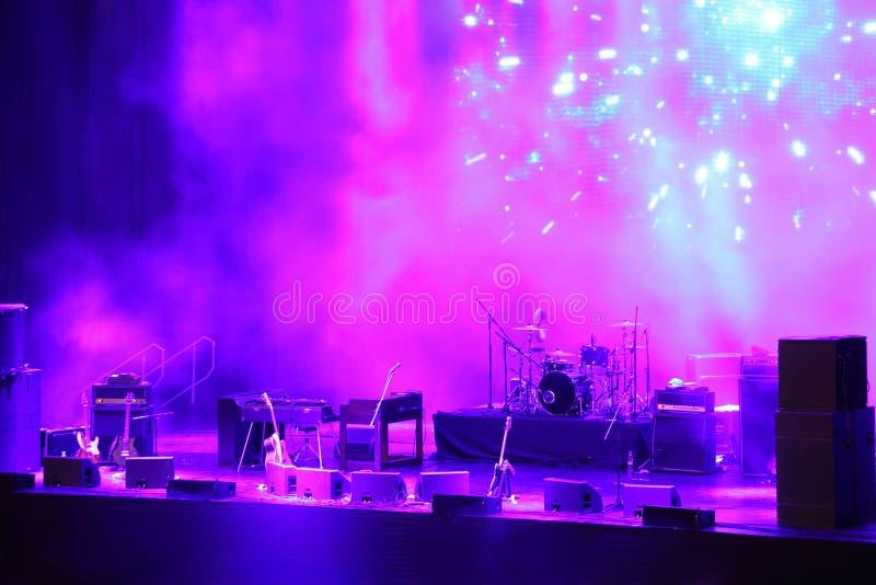 koncertowa scena zdjęcie stock